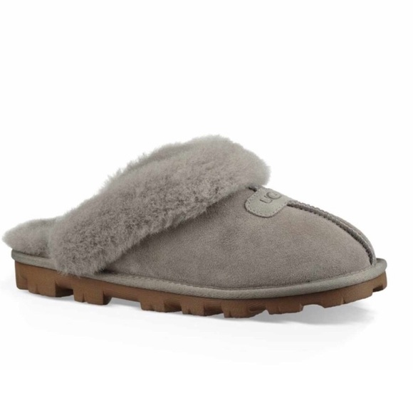 6dc536c4308 NEW! UGG Coquette Genuine Shearling Slipper NWT